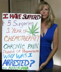 Donna Lambert Arrested For Using Medical Marijuana