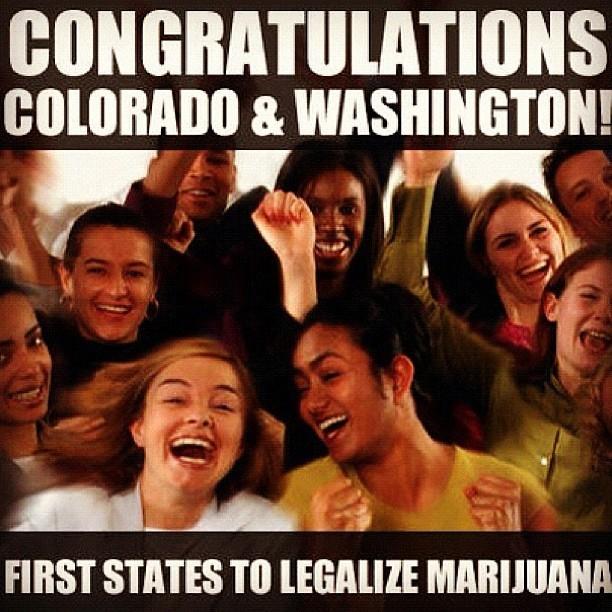 Marijuana Is legal in Colorado