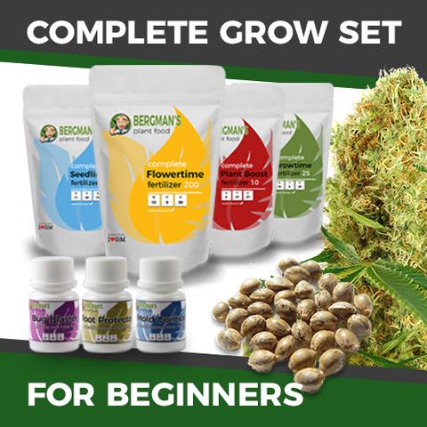 The Complete Beginners Marijuana Seeds Grow Set