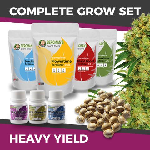 The Complete High Yield Marijuana Seeds Grow Set