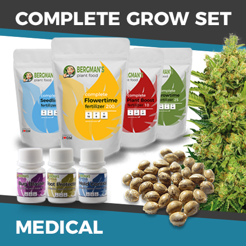 The Complete Medical Marijuana Seeds Grow Set