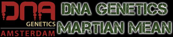 DNA Genetics Seeds Martian Mean Green Seeds