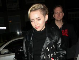 Myley Cyrus Visits The Green House Coffee Shop Amsterdam