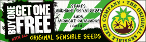 Double Seeds Offer On All Original Cannabis Seeds