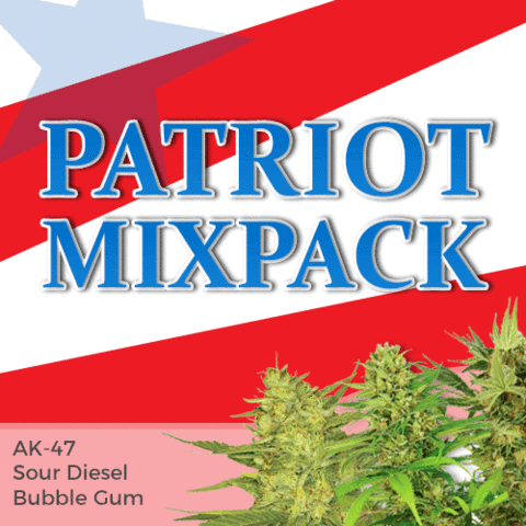 Patriot Mix Marijuana Seeds