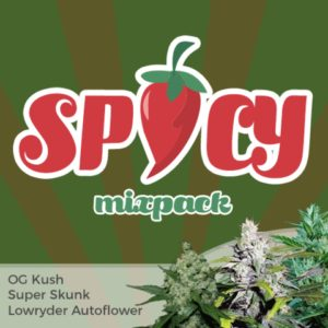 Spicy Mix Marijuana Seeds