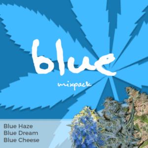 Blue Mixpack Marijuana Seeds