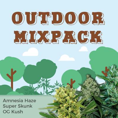 Outdoor Mixpack Marijuana Seeds