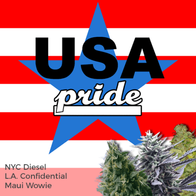 USA Pride Mixpack Marijuana Seeds