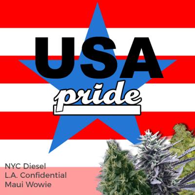 USA Pride Mixpack Marijuana Seeds