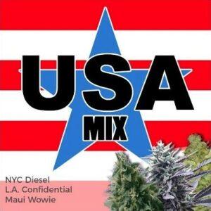 USA Mix Pack Marijuana Seeds